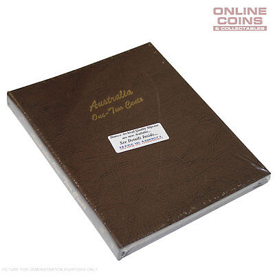 Dansco Supreme Australian 1c & 2c Coin Album - Clear Enclosed Compartments