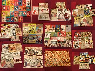"""The Beano Comic & Book Postcard 6x4"""" Dennis The Menace & Others"""