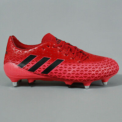 Adidas Crazyquick Malice SG Rugby Boots Red / Black / Red