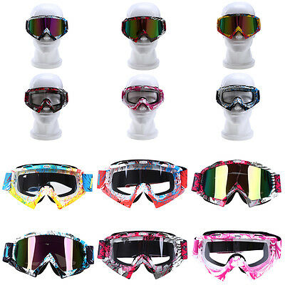 Motorcycle Youth Adult Goggles Motocross ATV Riding Racing Eyewear Glasses