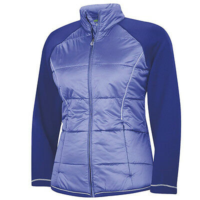 2015 Adidas Ladies ClimaProof Padded Golf Jacket CLOSEOUT Bluebonne X-Small NEW