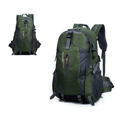 40L Waterproof Outdoor Backpack Camping Hiking Travel School Bag Day Pack