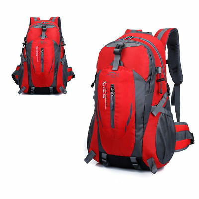 40L Sports Travel Outdoor Hiking Camping Waterproof Rucksack Backpack Bag