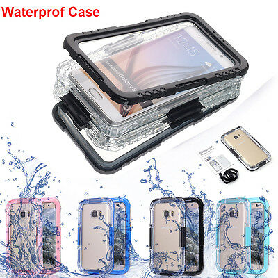 Shockproof Dirtproof Real Waterproof Hard Cover Case f Samsung Galaxy S7/S7 edge