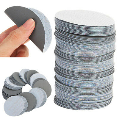 100pcs 3inch/75mm 3000Grit Sander Discs Sanding Polishing Pads Sandpaper Set New