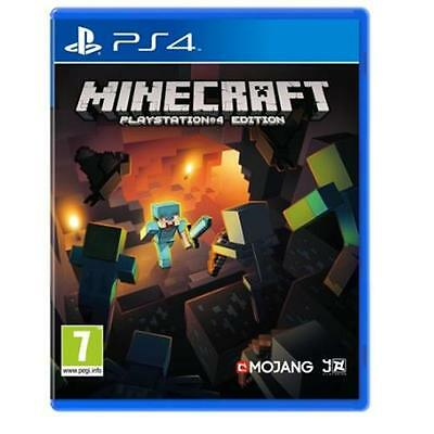 Minecraft Game For Sony Playstation 4 PS4 NEW & SEALED PAL