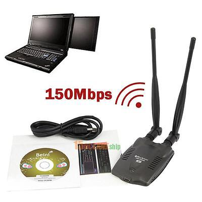3000mW Wireless USB Wifi Adapter Long Range Dual Antenna 3070 Network Card