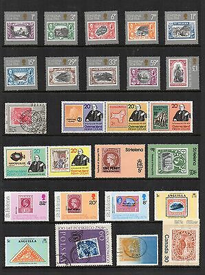 STAMP on STAMP Thematic STAMP COLLECTION Mint ST HELENA Ref:TS63
