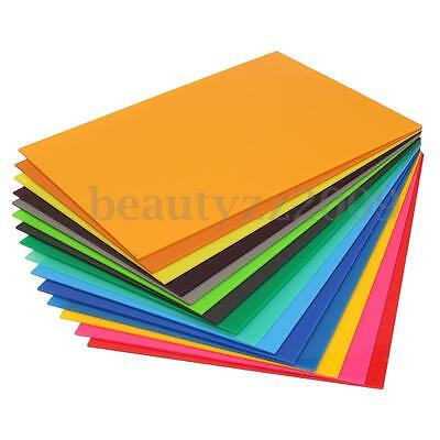 New 3mm A3 297x420mm Acrylic Perspex Sheet Cut to Size Panel Plastic Satin Gloss