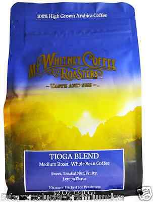New Mt. Whitney Coffee Roasters Tioga Blend Medium Roast Whole Bean Drink Care