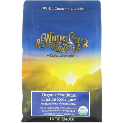 New Mt. Whitney Coffee Roasters Ground High Grown Medium Roast Small Batch Daily