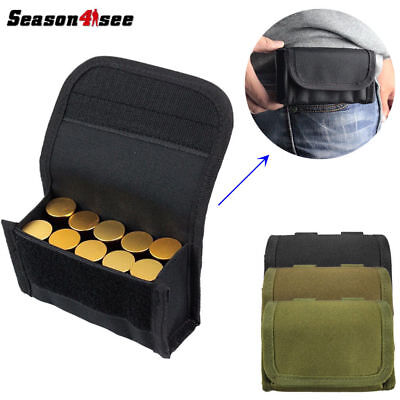MOLLE PALS Shotgun 12 Shell Gauge Ammo Reload Holster Pouch Magazine Bag Hunting