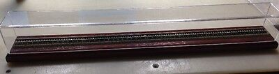 """40"""" N Scale Train Display Case - Includes Tracks And Roadbed"""