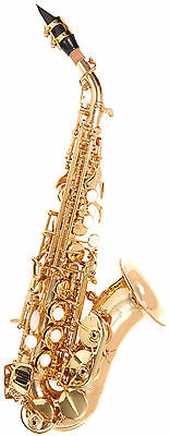 Odyssey Premiere OSS650C Curved Soprano Sax Outfit