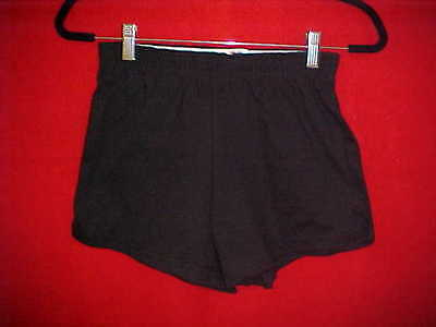 Gymnastic Shorts - Black - Eagle - Made in the USA - Size Youth Small (6-8)