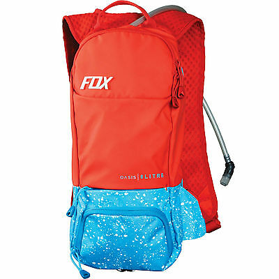 Fox Oasis MTB Hydration Pack 2Ltr Bladder Red/Blue *SALE RRP £65*