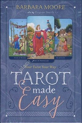NEW Tarot Made Easy Your Tarot Your Way Cards Deck Barbara Moore Eugene Smith
