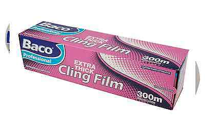 Baco Professional Extra Thick Clingfilm 300m Metres & 30cm Wide