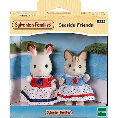 Sylvanian Families - Seaside Friends Set - 3 Years+ - 5232 - New