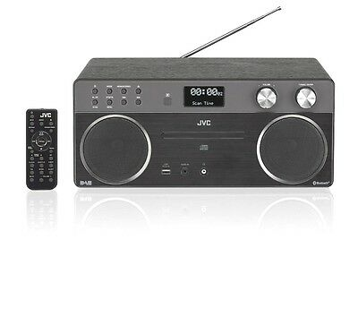 JVC 40w Micro DAB Hi-Fi with Bluetooth, CD Player, USB, FM/DAB Radio. RD-D90
