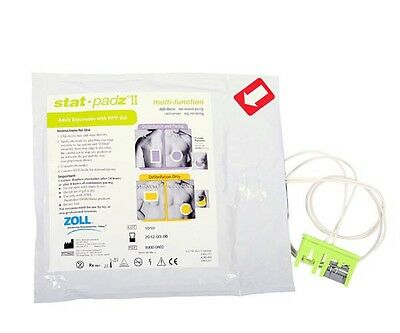 NEW Zoll Stat Padz II Multi Function Adult AED Defibrillation Pads AED Pro Plus