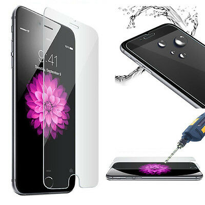 GENUINE TEMPERED GLASS FILM SCREEN PROTECTOR FIT FOR APPLE IPHONE 7PLUS Clear