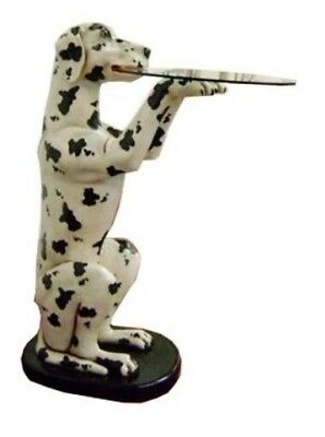 Butler Statue - Dalmatian Butler Statue - Dalmatian Holding Tray Statue 3 ft