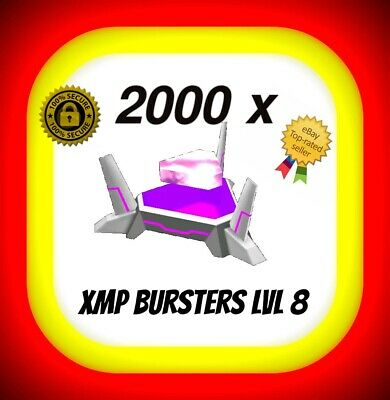 INGRESS 2000 BURSTERS XMP Lvl 8 XMP8 -  READY TO DROP burster