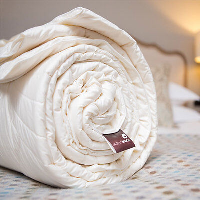 Pure Wool Organic Duvet - Double