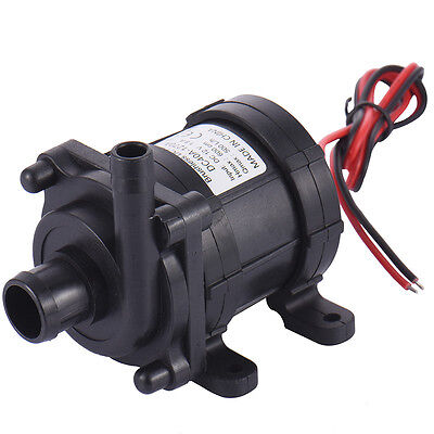 12V Brushless DC Submersible Water Fountain Pump Low Noise Pond Booster Pump