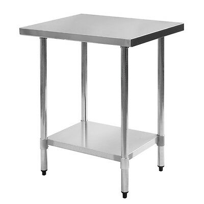 "24"" x 30"" Stainless Steel Work Prep Table Commercial Kitchen Restaurant"
