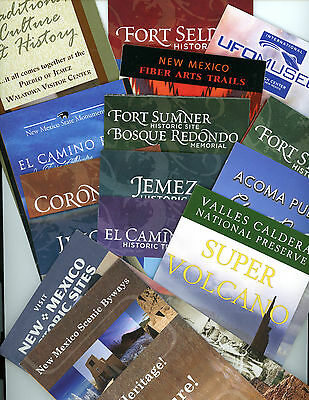 15 Maps & Guides-New Mexico State Historic & Cultural Sites *NEW & UNUSED*