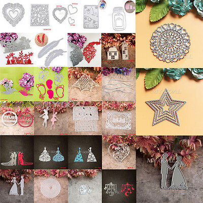 Metal Cutting Dies Stencil Scrapbook Card Album Paper Xmas DIY Craft Decor Gift