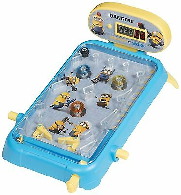 Despicable Me Minions Super Pinball Kids Present Gift Flipper Playset Toy
