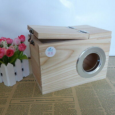 Cedar Squirrel Nesting Box/ Squirrel House/pet supplies U