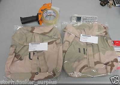2 USGI DCU MOLLE Sustainment Pouch NEW 8415-01-491-7511 sealed in plastic