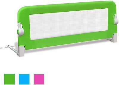 Protective Gate Safety Bed Rail Guard Baby Kid Nursery Bedroom Green 102 x 42 cm