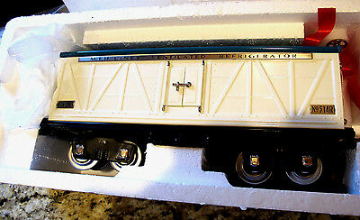 Mth Tinplate Traditions- Standard Gauge Train : 514R Std. Reefer Car -Ivory