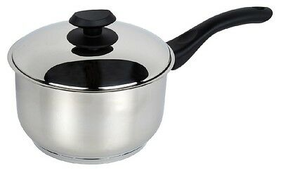 Pendeford Sapphire Collection Polished Saucepan with Glass Lid 20cm NEW
