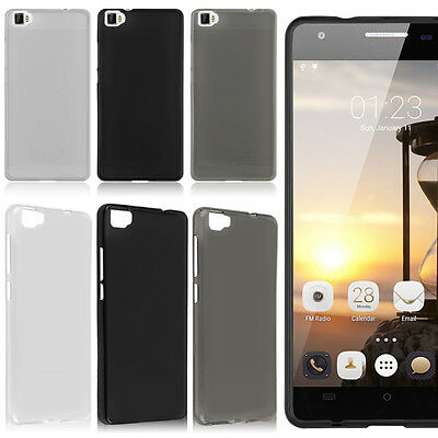 Soft Pudding TPU Gel Silicone Cover cellphone Case For Cubot / Wiko / Vodafone