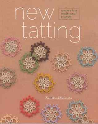 New Tatting Softcover Book by Tomoko Morimoto
