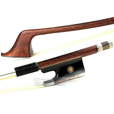Pro Master Yellow IPE Double Bass Bow 3/4 OX-Horn Frog Strong Power 126g