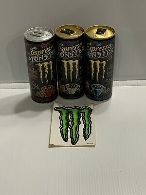 Monster Energy Drink Ultra Violet 16oz CANS. Set Of 2 Full Cans Ready To Ship
