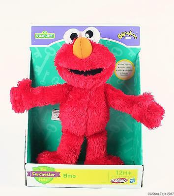 "SESAME STREET Furchester Hotel ELMO 11"" plush soft toy Hasbro Playskool - NEW!"
