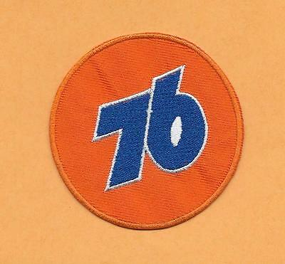 """Union 76 Product Gasoline  2 5/8"""" Patch   Round"""