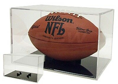 BRAND NEW GRANDSTAND FOOTBALL DISPLAY CASE by BALLQUBE
