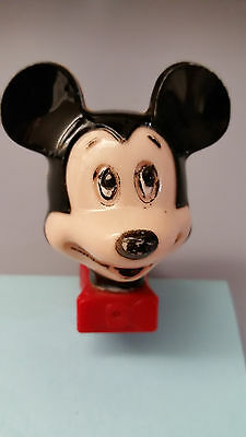 Vintage Disney Mickey Mouse Head Electric Night Light Collectible