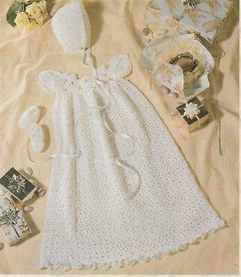 Gorgeous CROCHET Pattern for CHRISTENING Gown  Copy