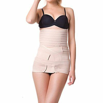 3 in 1 Multifunction Invisible Nude Recovery Postpartum Belly Belt C-section