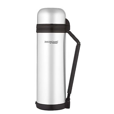 Genuine Thermos 1.8L Multi Purpose Stainless Steel Flask Hot Cold Food Coffee